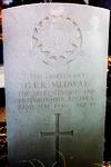 gravestone of G.E.R. Medway